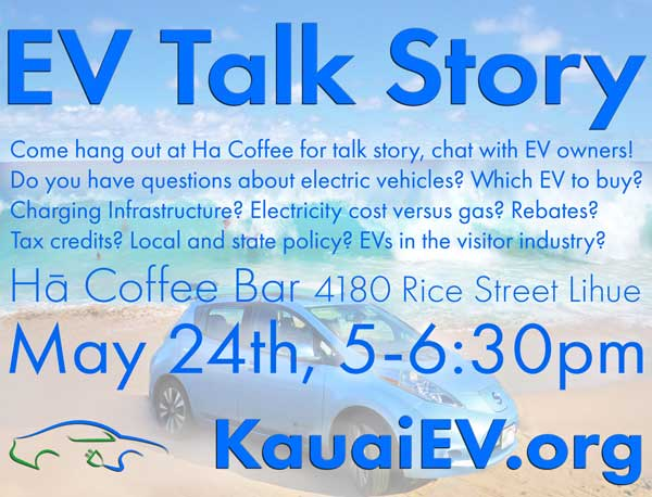 EV Talk Story at Hā Coffee Bar