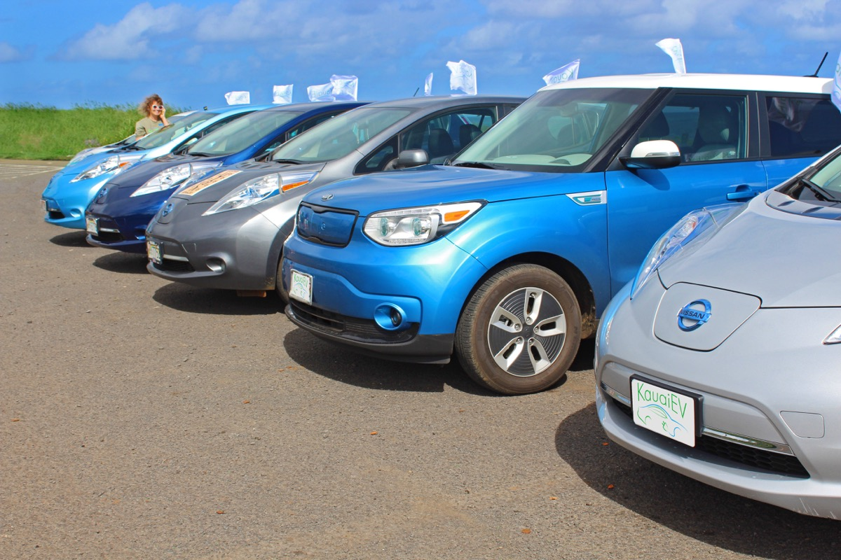 4th Kauai EV Ride and Drive!