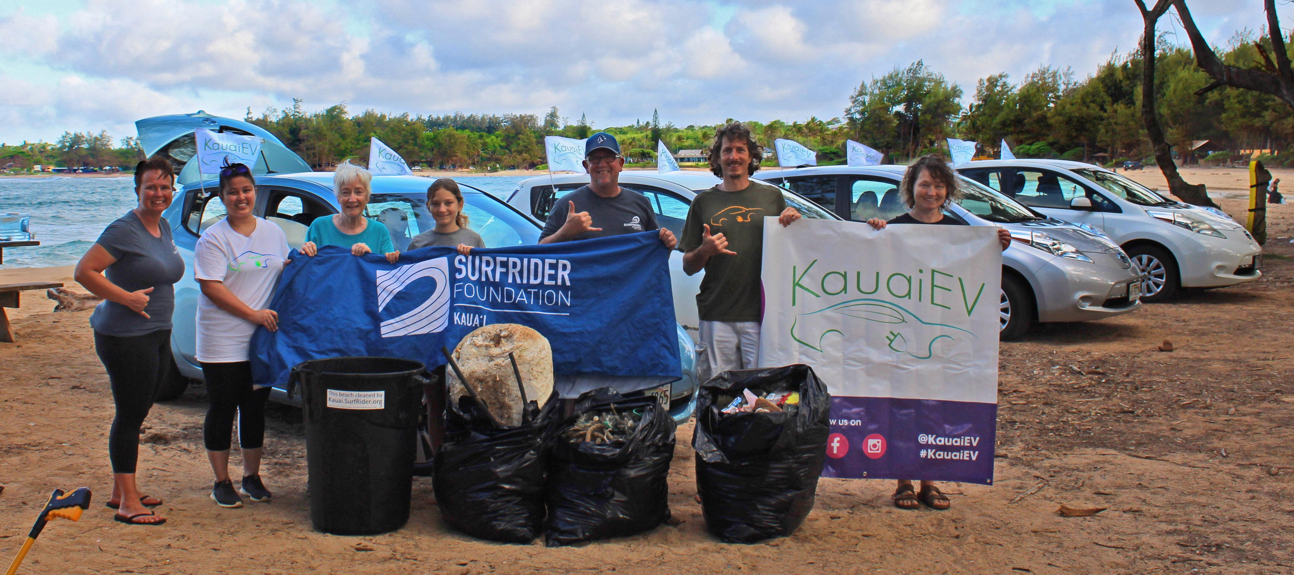 Earth Day Caravan & Beach Clean Up